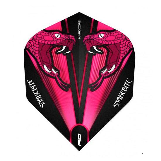 ダーツ用 羽 折りたたみ スタンダード 発売モデル 黒 ピンク BLACK REDDRAGON 日本最大級の品揃え Peter ダーツ フライト Thick レッドドラゴン Pink F6418 Extra Wright