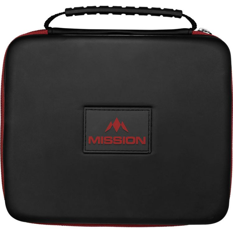 ダーツケース 大容量 2020 新作 4セット 12本 ビックサイズ バッグ ミッション フリーダム ルクソール Freedom Red Black Mission ご注文で当日配送 Wallet EVA Luxor ブラックレッド