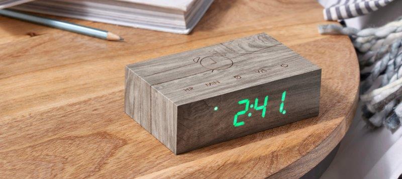 ★Gingko ギンコー Flip Click Clock Ash フリップクリッククロック アッシュ G003A12