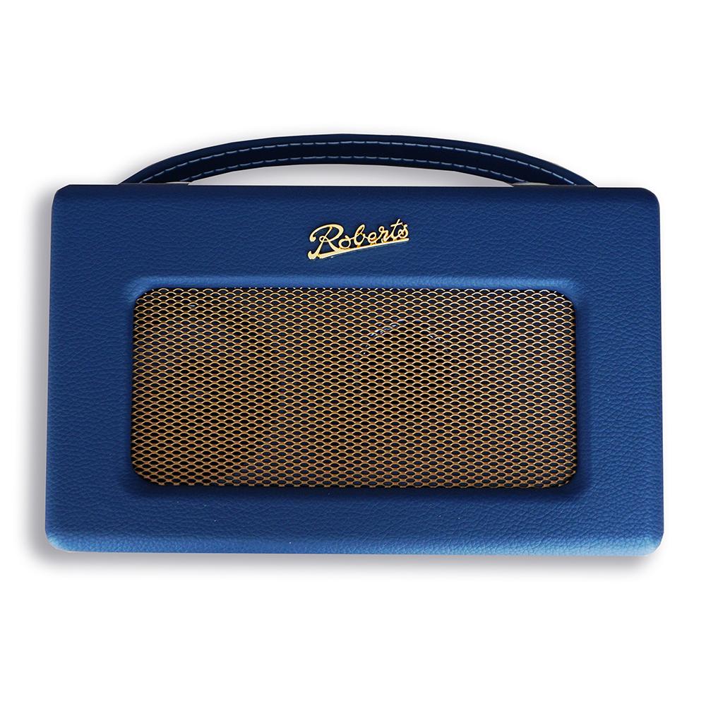 【無料ラッピング対象】ROBERTS RADIO ロバーツラジオ R300 レザークロス ブルー