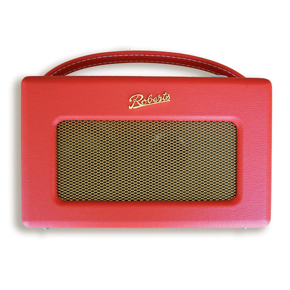 ROBERTS RADIO ロバーツラジオ R300 レザークロス レッド