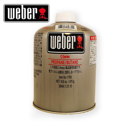 【送料無料】Weber 17700 WeberガスグリルQ1250専用純正LPガス燃料 カートリッジ 12本セット
