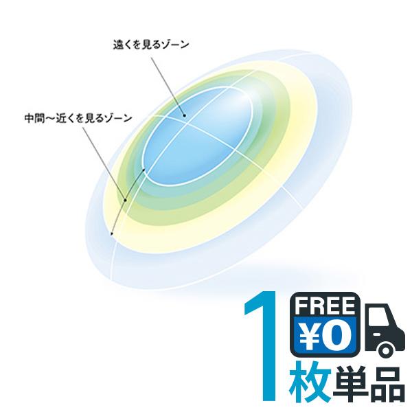 キャッシュレス 5%還元対象 シード マルチフォーカル O2 ノア 片眼分 1枚 送料無料 遠近両用 SEED ハード コンタクトレンズ PNT!