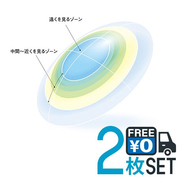 キャッシュレス 5%還元対象 シード マルチフォーカル O2 ノア 両眼分 2枚 送料無料 遠近両用 SEED ハード コンタクトレンズ PNT!