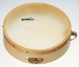 goldonタンバリン/S【ミュージック・フォ・リビング/MUSIC FOR LIVING】【知育玩具・知育楽器・楽器玩具】