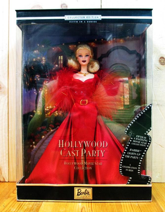 ◎2001年 バービー 【HOLLYWOOD CAST PARTY Barbie】 ハリウッドキャストパーティー バービー Mattel マテル・ドール・おもちゃ・アメキャラ・アメリカ雑貨・アメリカン雑貨・アメ雑