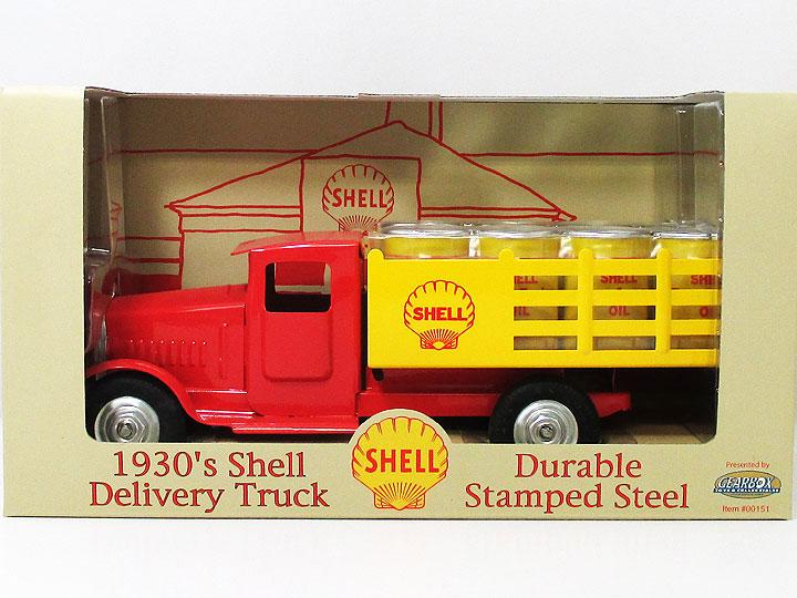 ◎1930's Shell デリバリートラック 鋼板製・シェル・アメリカン雑貨・アメリカ雑貨・アメ雑