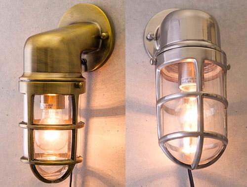 送料無料 照明 ヴィンテージウォールランプ サブマリン ブラケット ライト 西海岸 インダストリアル