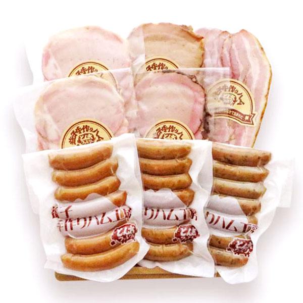 栃木県上三川地区の 坂本農場さんが丹精込めて育てた健康な豚を使用 肉の美味しさを追求した絶品です 秋ギフト 送料無料 産地直送 毎週更新 とん太ファミリー スライスセット ロースハムスライス T8 ペッパーポークハムスライス 青じそ 青唐辛子 ウインナー3種 あらびき 内祝い チャーシュースライス ベーコンスライス TY-C-M