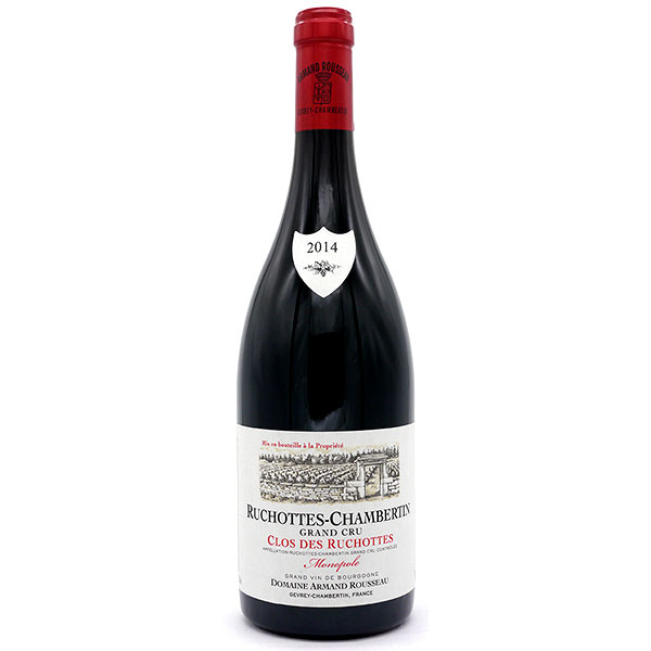 【送料無料】アルマンルソー リュショット・シャンベルタン・クロ・デ・リュショット グラン・クリュ(モノポール) 2014 750ml【赤ワイン/Armand Rousseau Ruchottes Chambertin Grand Cru Clos des Ruchottes Monopole/父の日/誕生日/お祝い/ギフト/通販】[TY-JC-K][T10]