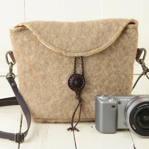 For Shoulder Camera Bag Mirrorless Women S Cute Stylish And 2 Way Key Mokomochabrown