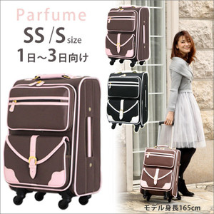 Stylish and cute! carry bag «C9760T» 41 cm size / 46 cm SS S size ( 1 day-3 day orientation ) TSA lock, casters with-乃本