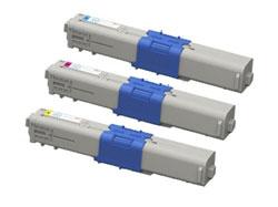 商品名:MIKASAリサイクルトナー参考型名:TNR-C4J C1,M1,Y1よりどり3本セットリサイクルトナー(沖データ)(C301dn)