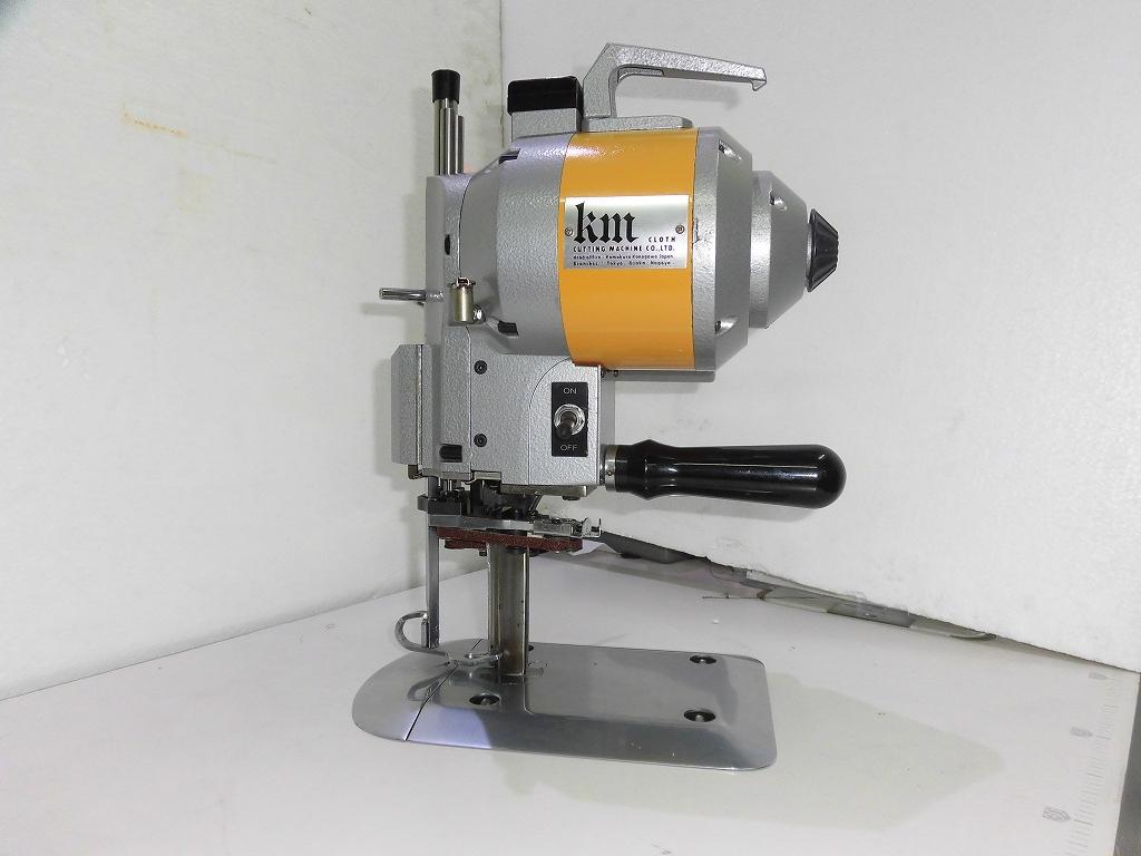 【中古】稀少 KM 裁断機 100V仕様 自動研磨装置付き モデルNO-KS-EU型 4インチ縦刃裁断機