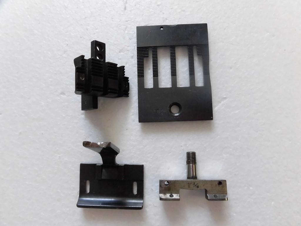 【中古】2本針本縫い針送りミシン ゲージセット 1 3/16 30.2「mm」