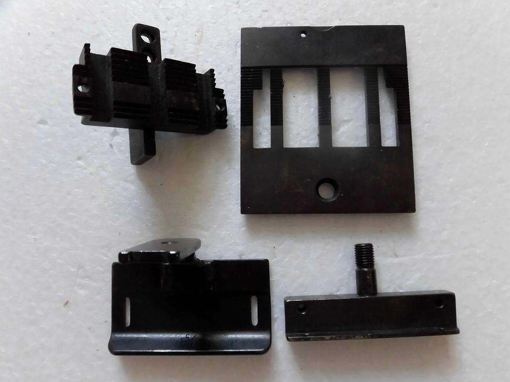 【中古】2本針本縫い針送りミシン ゲージセット 1 5/8インチ