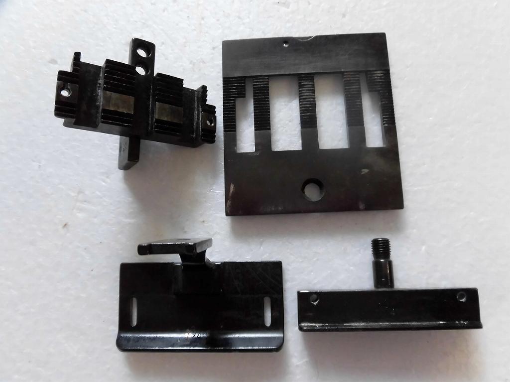 【中古】2本針本縫い針送りミシン ゲージセット 1 3/4インチ