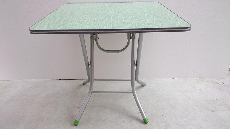 新品 折り畳み式テーブル 未使用 大規模セール SSM-5860型 縫製仕掛品の置くテーブルです 縫製工場の必需品