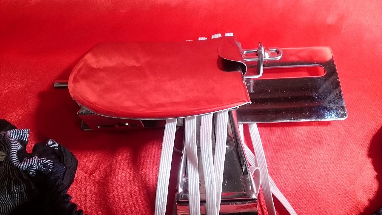 各メーカー4本針8本糸用、ゴム入れラッパ SSM-83D型