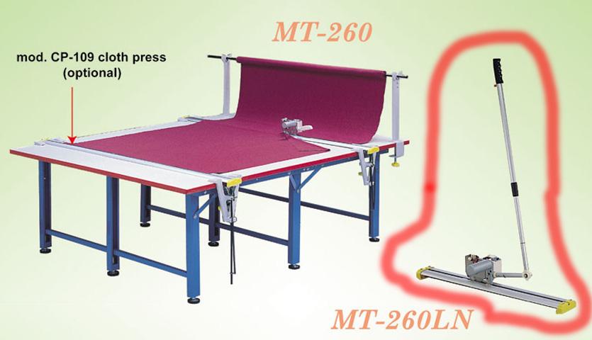 【新品】エンドカッターロングアーム MT-260LN-100v280cmレール付「280cmのレール付きは、正式ご注文後14日営業日程度かかります。」 長い柄付きタイプMT-260LN