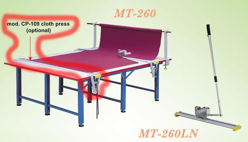 【新品】エンドカッターMT-260用CP-109布押さえ装置