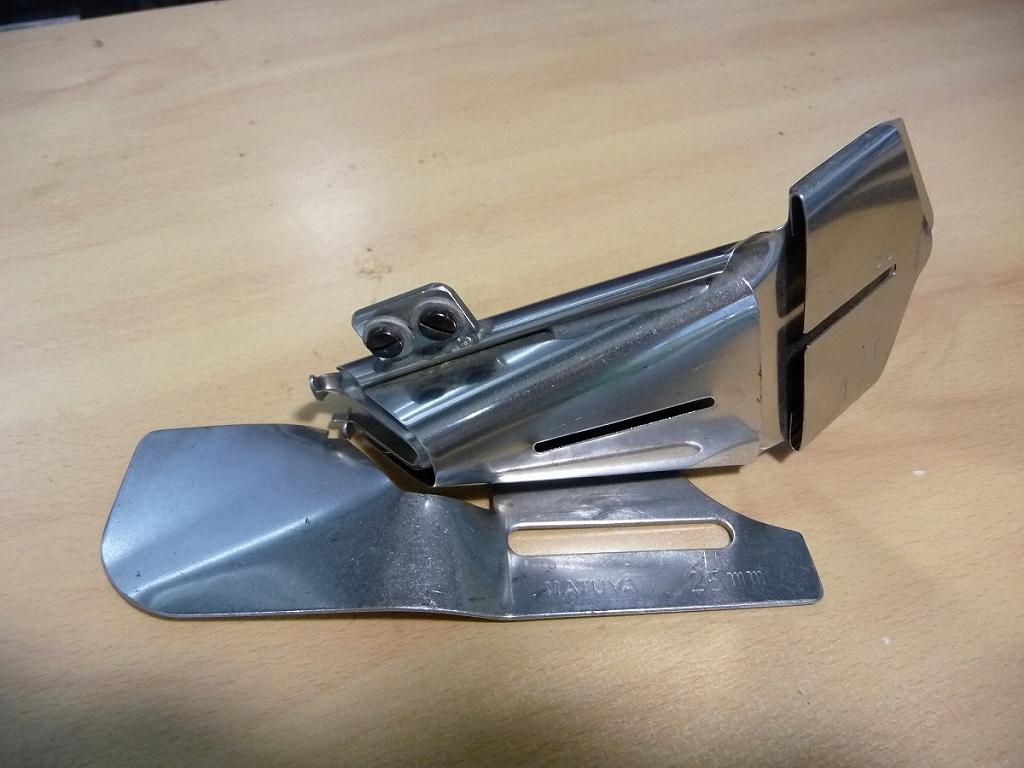 【中古】D-13-3 三つ折りバインダー 日本製 マツヤ式 テープ幅60mm 仕上がり幅調節式 25mm