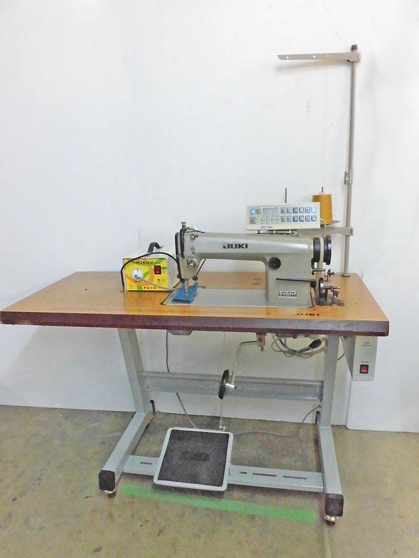 【中古】 JUKI ジューキ 1本針自動糸切ミシン モデルNO-DDL-506型 単相200V仕様