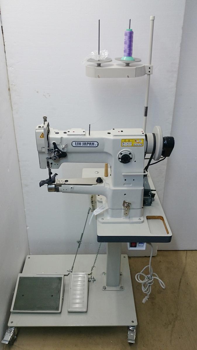 【新品】 1本針本縫い横筒型総合送りミシン。モデルNOーSSM-DSC-246型。