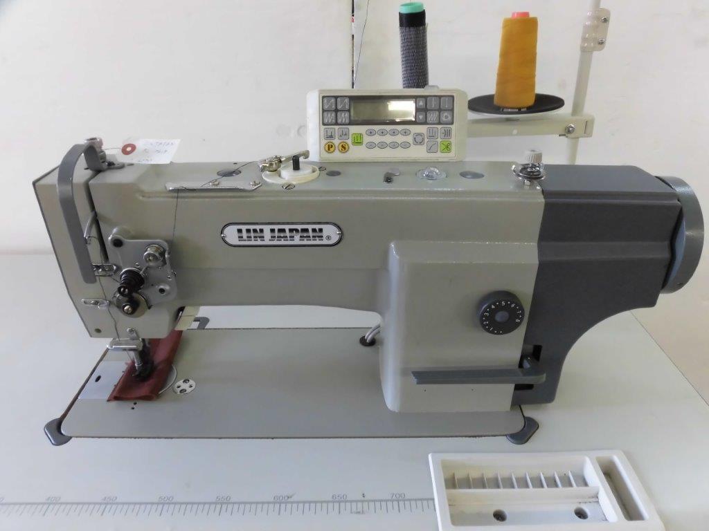 【新品】1本針総合送り自動糸切ミシン 大釜 垂直ガマモデルNO-SSM-SL-0618型 200V