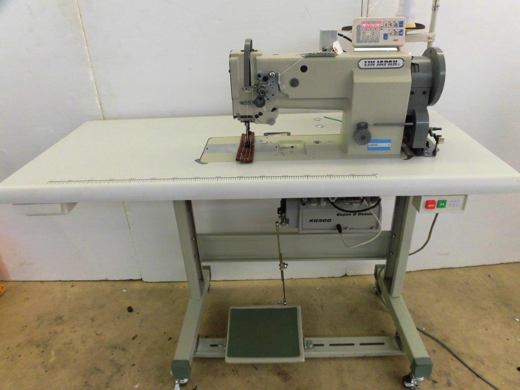 【新品】1本針総合送り自動糸切機構つきミシン。モデルNO- SSM-KS-4410ーB1T