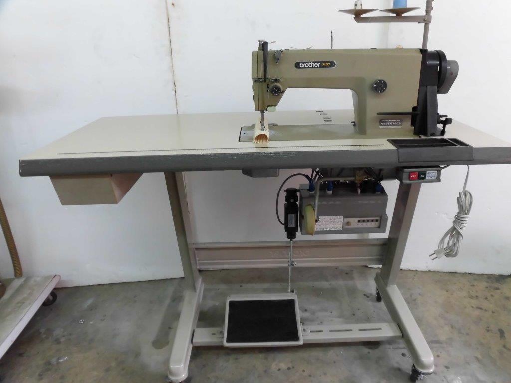【中古】 brother ブラザー 1本針自動糸切ミシン モデルNO- DB2-B737-303 100V仕様