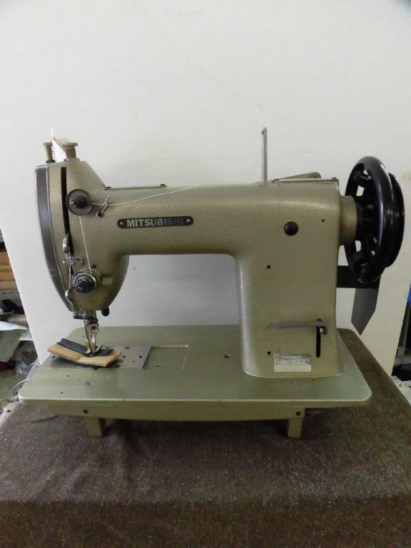 【中古】三菱1本針本縫い上下送りミシン。モデルNOーDY-253 頭部のみ MITSUBISHI ミツビシ