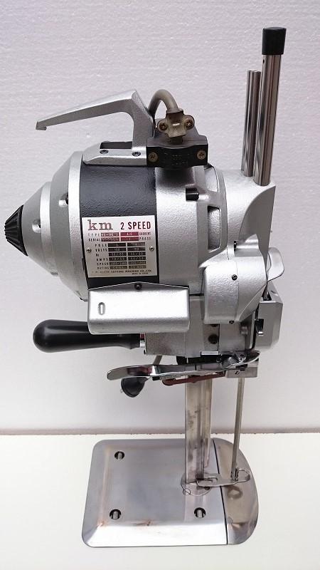 【中古】KM裁断機 日本製 KS-AU-3型 10インチ 縦刃裁断機 整備済み。6か月の保証つきです。