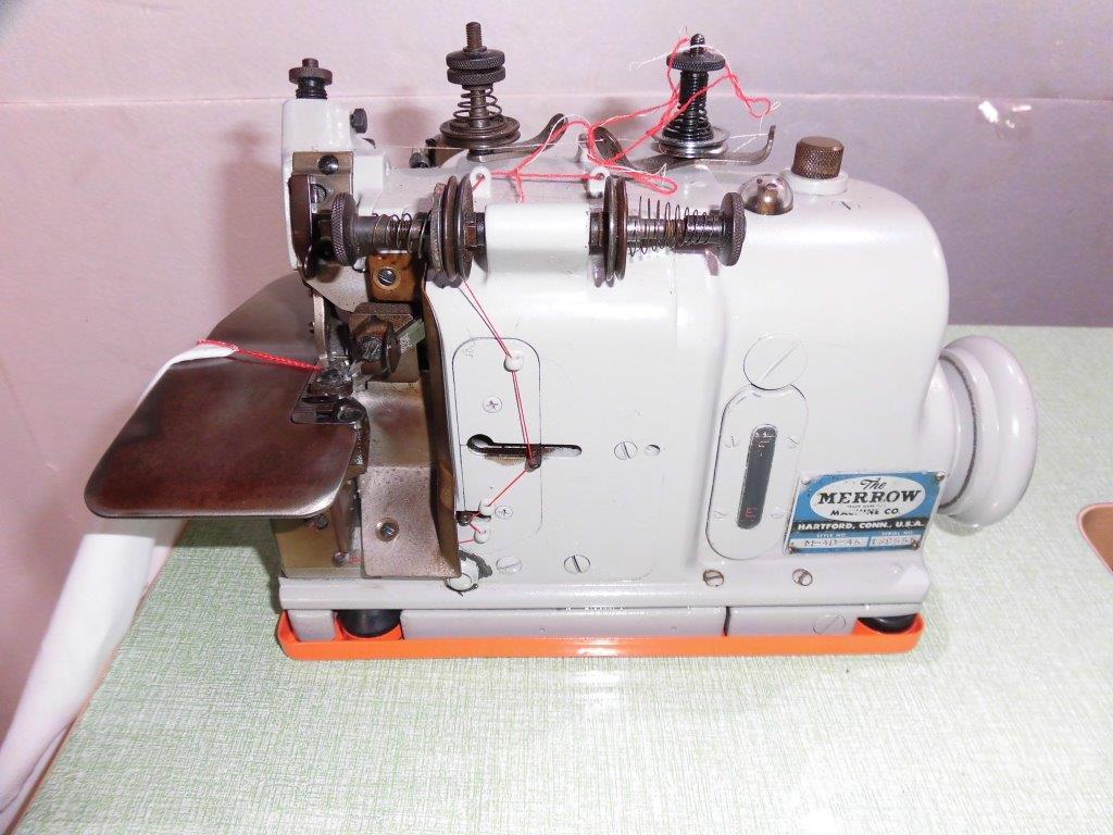 【中古】アメリカ製 メローミシン モデルNO-M-4D-45型 頭部のみ