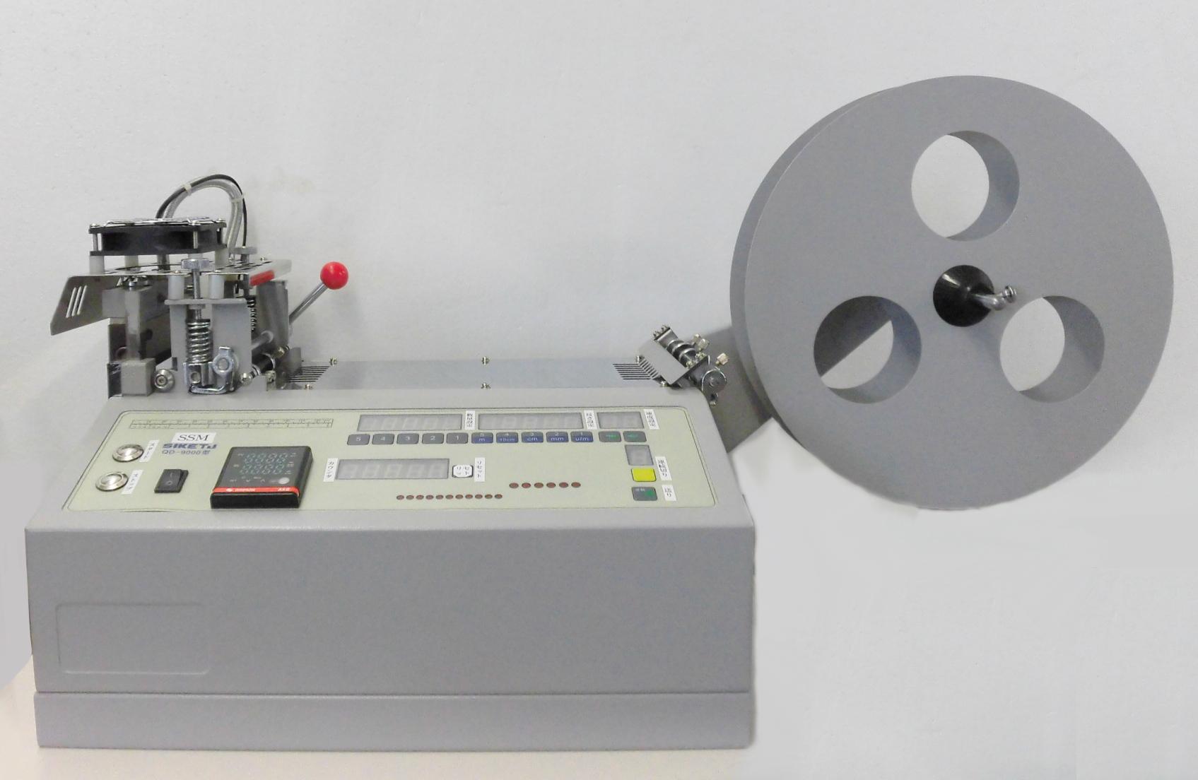 ヒートカット自動裁断機 モデルNO-SSM-QD-9000型 100V仕様は、¥18500-税別高くなります。