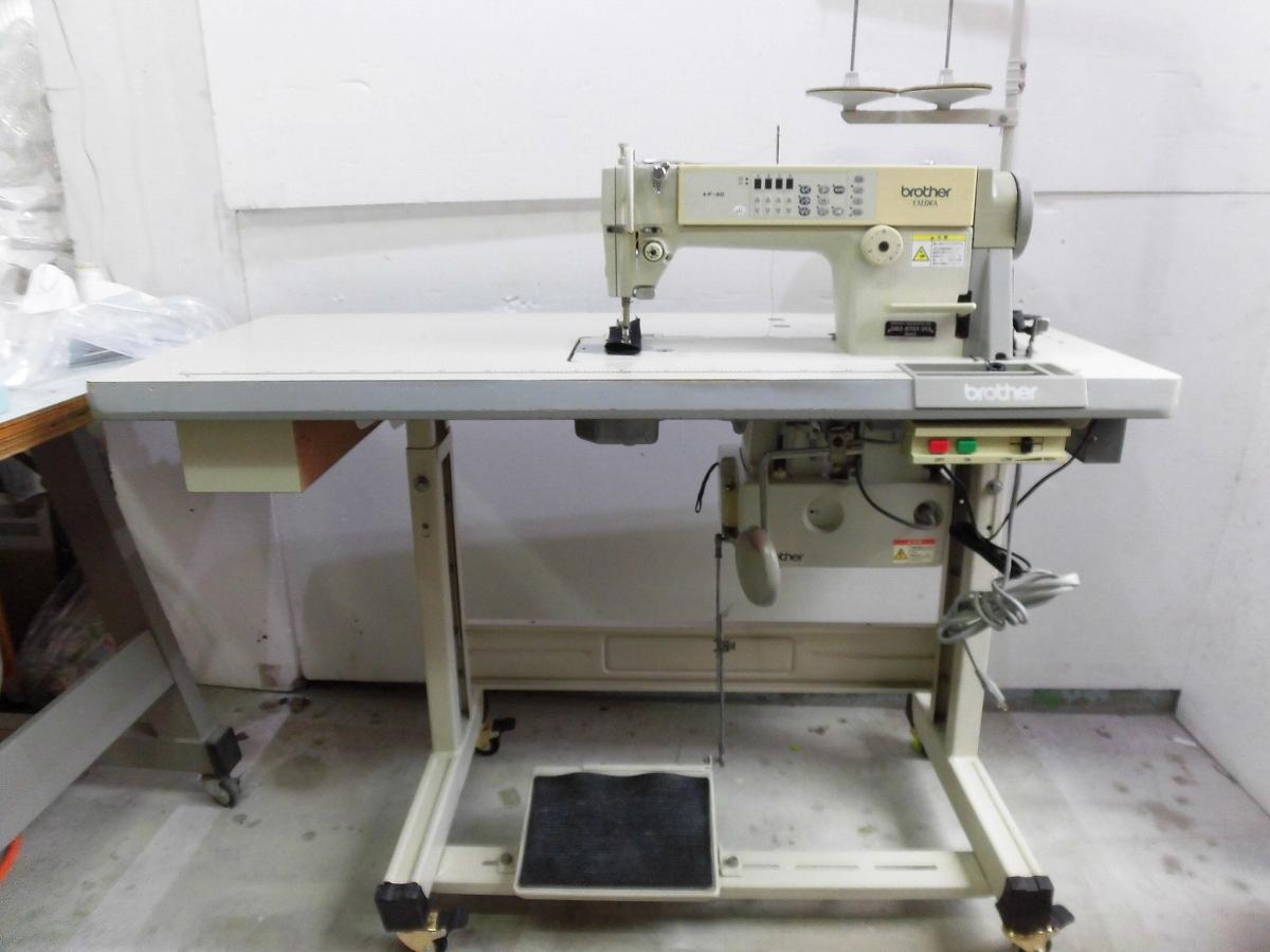 【中古】 ブラザー BROTHER 1本針自動糸切ミシン ブラザー モデルNO-DB2-B737-313型 100V