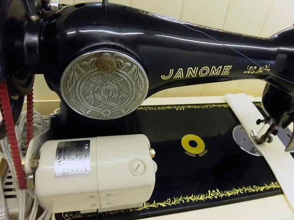 激安本物 【中古】JANOME ジャノメ 日本製 アンティークミシン ...