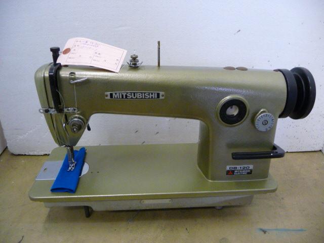 【中古】 三菱 1本針本縫いミシン モデルNO-DB-120 頭部のみ