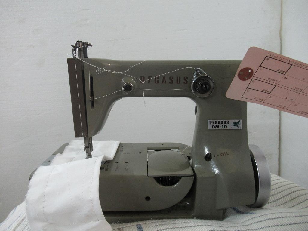 【中古】 ペガサス 日本製 モデルNO DM-10型 頭部のみ 1本針2本糸 婦人手袋縫いミシン