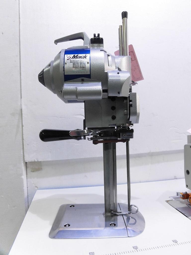 【中古】日本製 KM裁断機 モデルNO-KS-AUV型 10インチ 100V仕様 縦刃裁断機 MACK2SPEED
