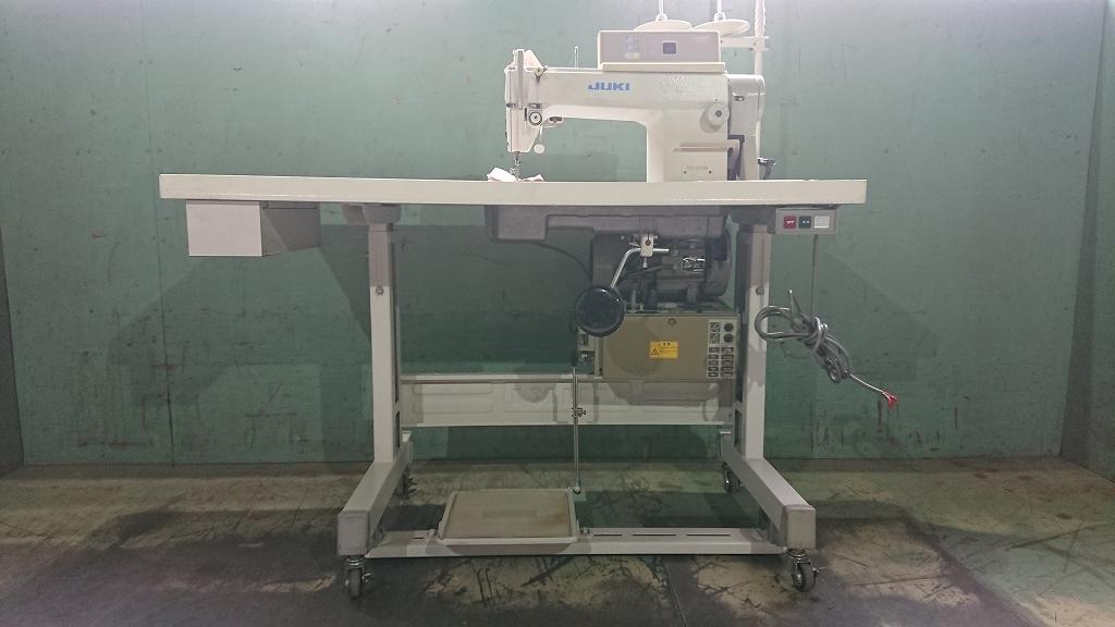 【中古】 ジューキ JUKIミシン 1本針自動糸きりミシン モデルNO DDL-5570N-SC-120