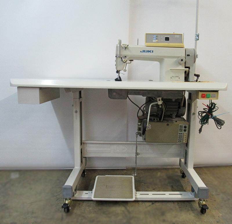【中古】ジューキ JUKIミシン 1本針自動糸切ミシン100V 仕様 DDL-5580N型
