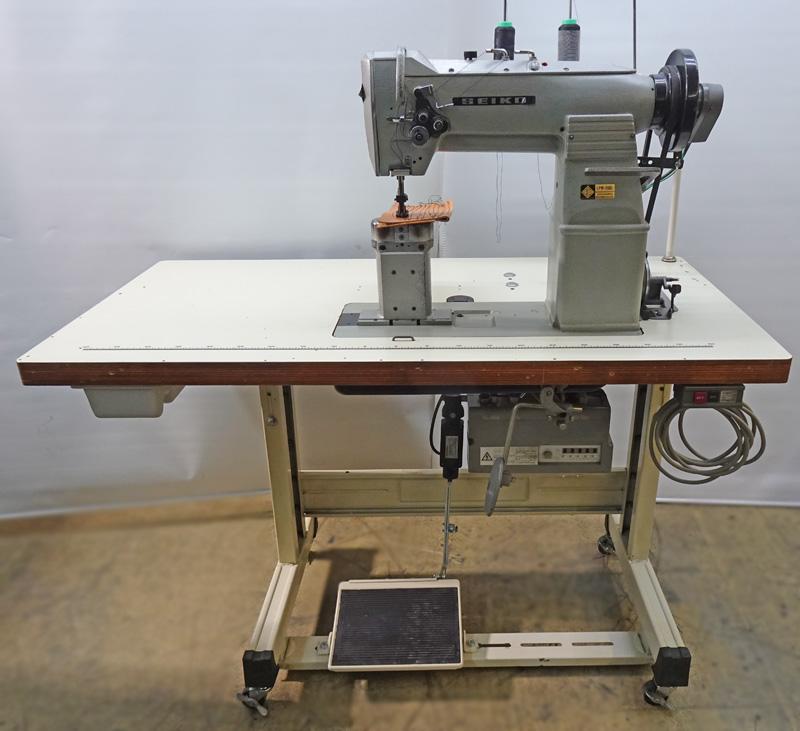 【中古】 セイコー SEIKO LPW-28BL 頭部のみ テーブル・脚・モーター別見積もりとなります 針幅5/16 2本針ポストミシン