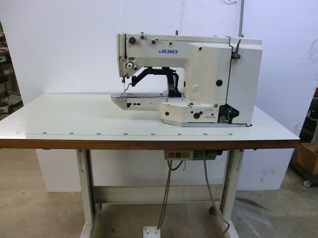 【中古】JUKI ジューキ 線カン止めミシン モデルNO-LK-1852-28型 28針縫い。200V仕様 (100V仕様は、税別19万円となります。)