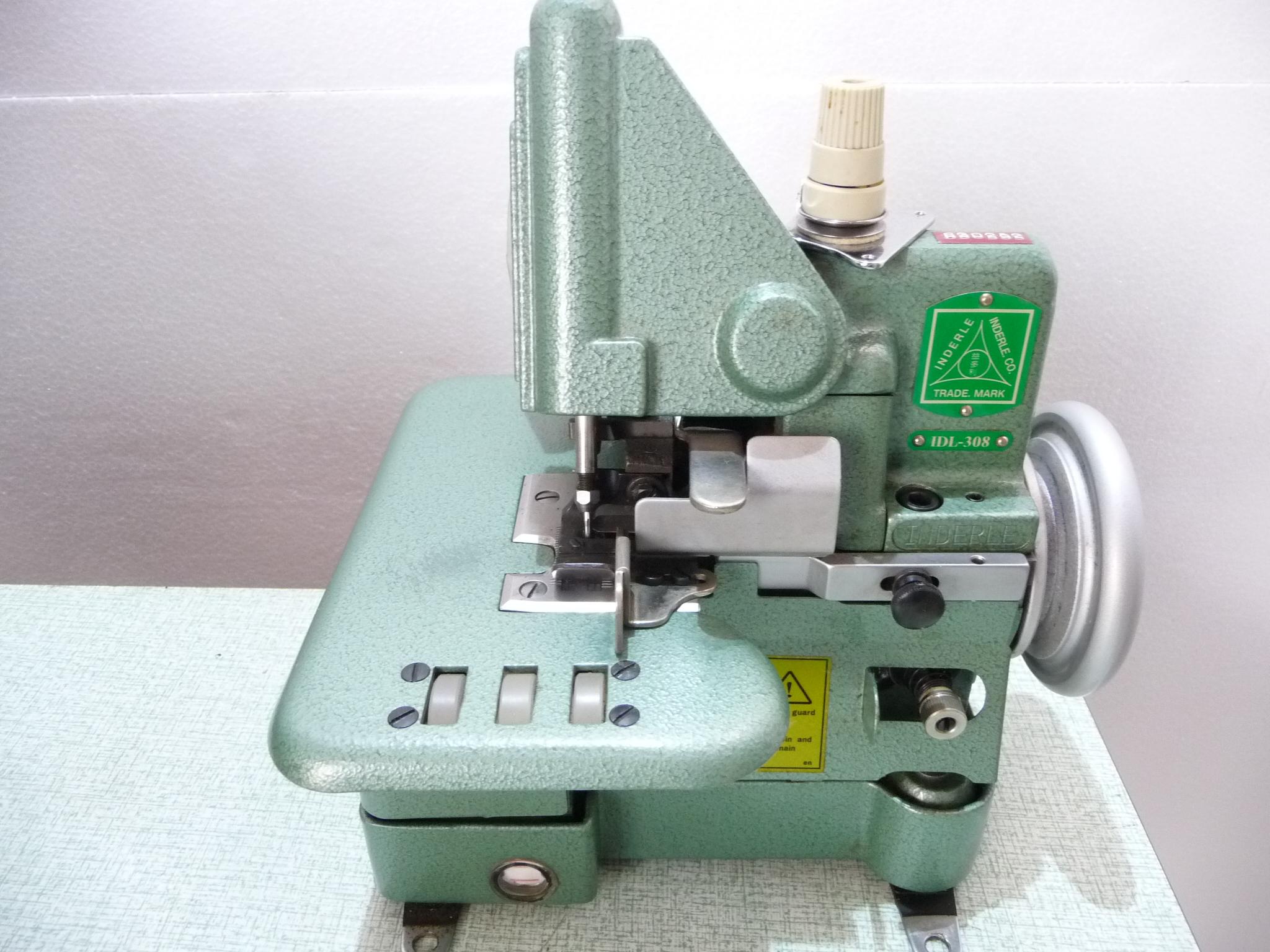 台湾製 モデルNO-IDL-308型「ヤマトDCY-108同等品」展示品「新古品」頭部のみ 1本針3本糸用、カーペット・絨毯等の縁かがりミシンにお使いください。新品と同じく6か月の保障つきです。