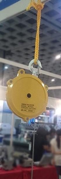 SB-7K(S)袋口縫いミシン吊り下げワイヤー長さ1.3m 対荷重5~7kgまで
