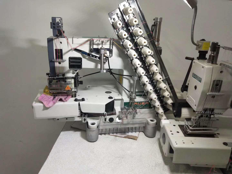 多針ミシン用ミシンを自動糸切に改造しませんか? 下記のミシンを自動糸切に改造できます。モデル:日本 KANSAI SPECIAL 森本 4406型 4412型 4413型 6本、12本、13本針です。モデル:台湾 SIRUBA VC008の12針と13針です。