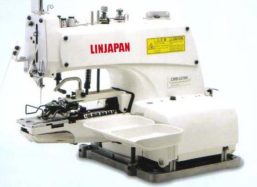 【新品】縫い仕様切り替え1本針環ぬいボタン付けミシン。 モデルNO-SSM-CMB-2373A型