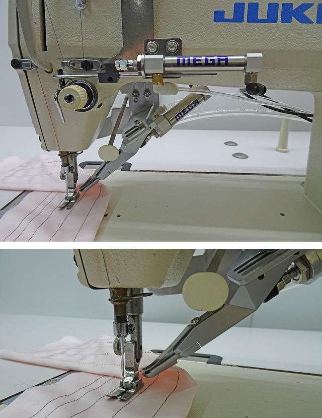 鳥の巣防止装置部品NO-SSM-JUKI-torinosu5570 JUKI DDL-5570・8700シリーズに対応します。 鳥の巣防止装置改造部品代金1台分 「改造手順動画DVD付き」