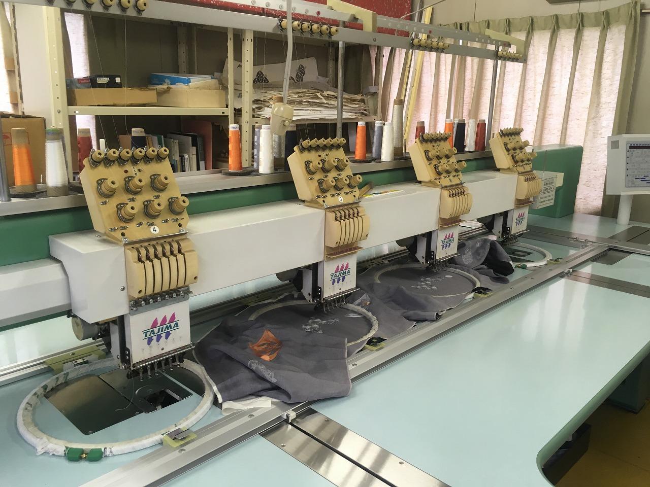 タジマ モデルNO TMFD-604s型 刺繍ミシン